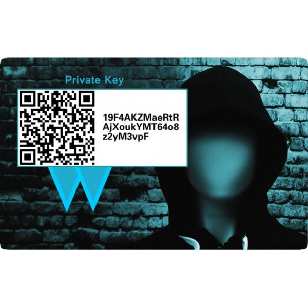 VERGE XVG PVC Card wallet Rückseite 2