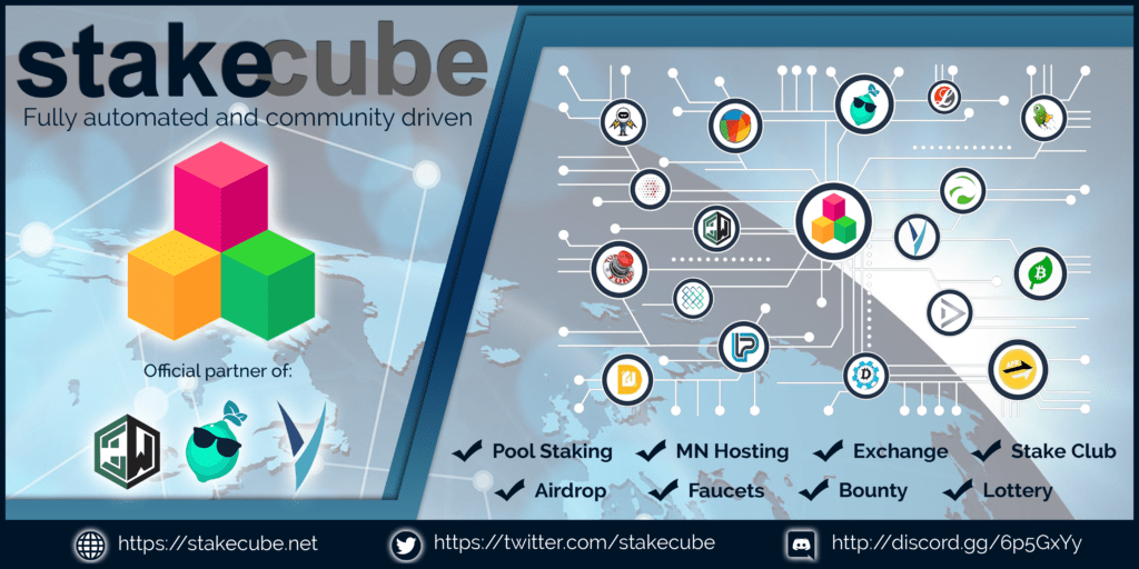 StakeCube Masternode shared hosting